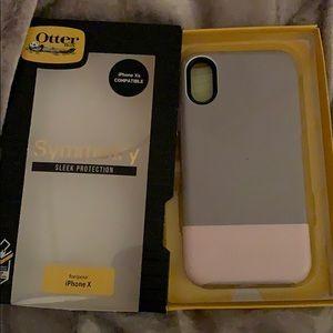 Otterbox symmetry skinny dip iPhone X/XS case